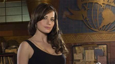 Erica Durance como Lois Lane en Smallville