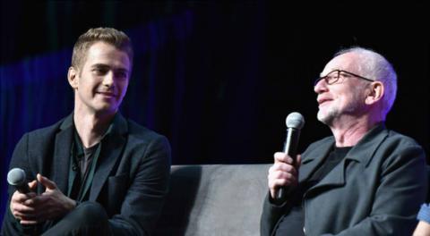 Hayden Christensen e Ian McDiarmid