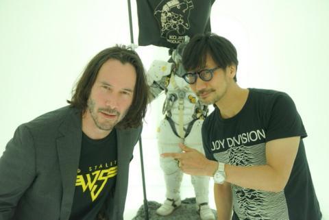Kojima y Keanu