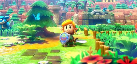 Zelda Link's Awakening Nintendo Switch remake