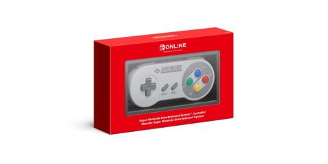 Mando Super Nintendo Nintendoo Switch