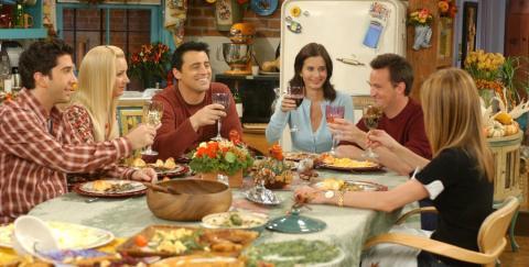 Los mejores episodios de Acción de Gracias de Friends