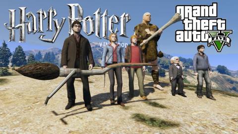 GTAV Mod Harry Potter