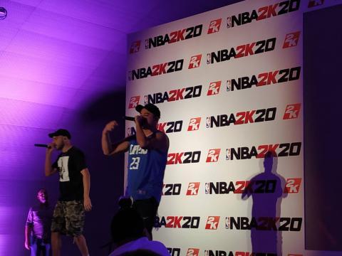 Presentación NBA 2K20