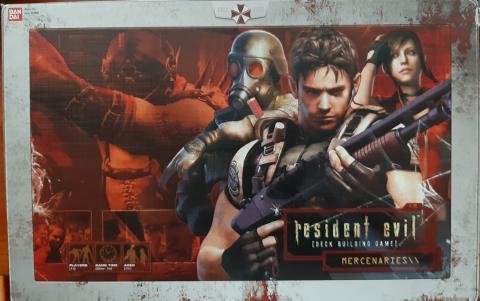 Resident Evil Deck Building Game - Cartas