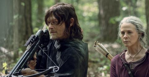 The Walking Dead temporada 10 - Daryl y Carol