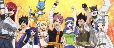 El anime Fairy Tail celebra su décimo aniversario