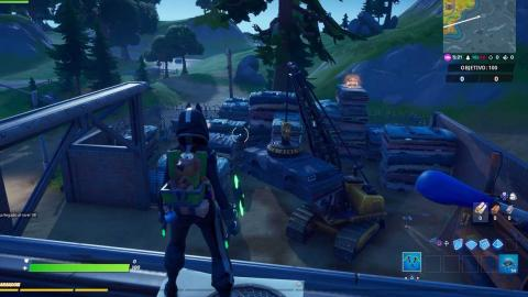 Dancing on compact cars, Lockie Lighthouse and Fortnite Weather Station