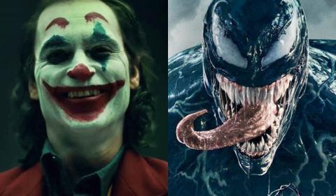 Joker supera la recaudación en taquilla de Venom en su primer fin de semana