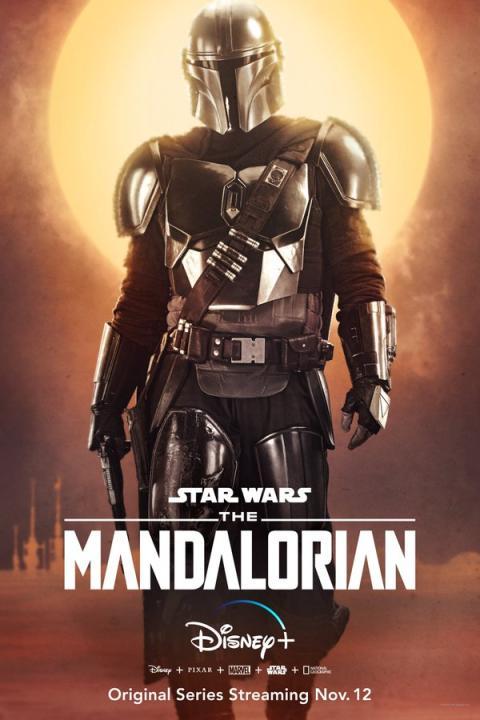 The Mandalorian - Posters personajes