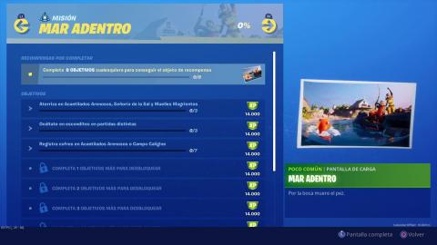 Mar Adentro Fortnite