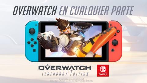 Overwatch en cualquier parte - Nintendo Switch