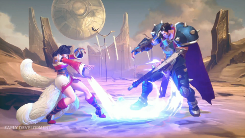 Riot Games Juego de Lucha