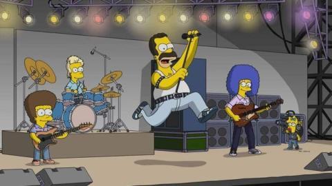 Los Simpson rinden homenaje a Queen