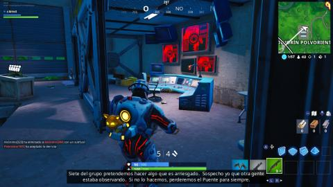 El Visitante blanco Fortnite
