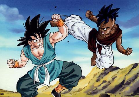 Dragon Ball Xenoverse - Goku maestro y Uub