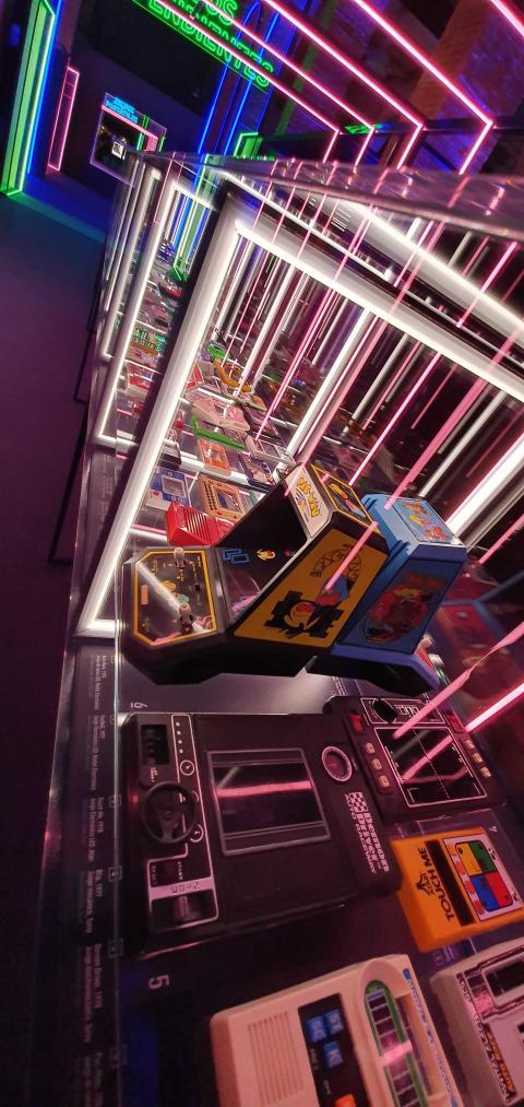 Exposición Game On de Madrid