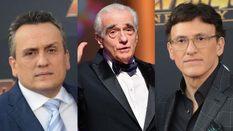 Los hermanos Russo hablan sobre las declaraciones de Scorsese acerca del cine Marvel