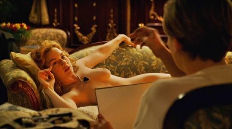 James Cameron fue el autor del dibujo de Rose desnuda en Titanic