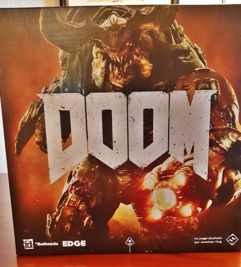 Así es el juego de tablero de Doom
