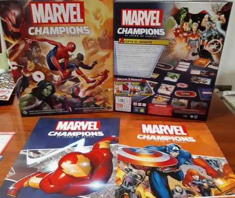 Marvel Champions - Componentes del juego de cartas