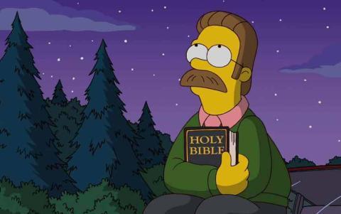 Ned flanders de Los Simpson