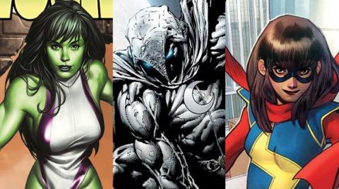 Las series She-Hulk, Moon Knight y Ms. Marvel también tendrán películas en el UCM