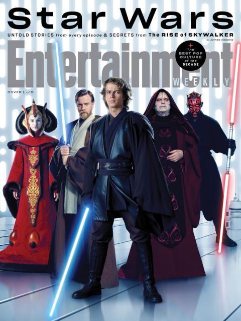 Star Wars Saga Skywalker - Portadas Entertainment Weekly