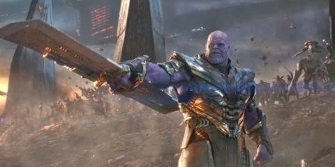 Vengadores Endgame - Thanos