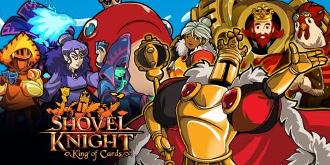 Review Shovel Knight King of Cards