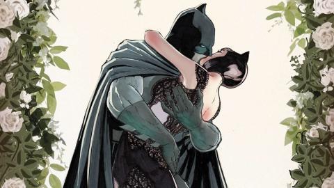 La boda de Batman con Catwoman