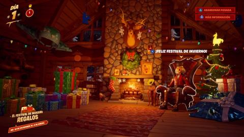 Cabaña Festival de Invierno Fortnite
