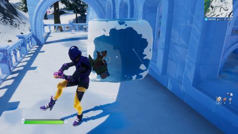 Cubos de hielo Fortnite
