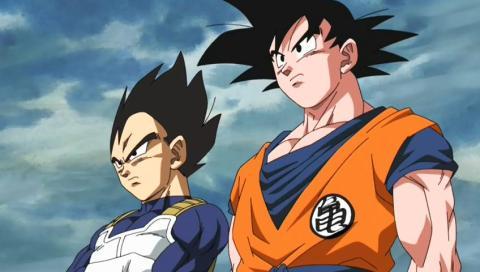 Dragon Ball - Vegeta y Son Goku