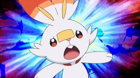 Pokémon Espada Escudo anime - Scorbunny