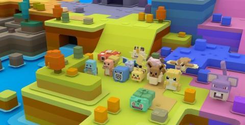 Pokémon Quest y Nintendo Labo