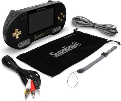 SupaBoy BlackGold NES y SNES
