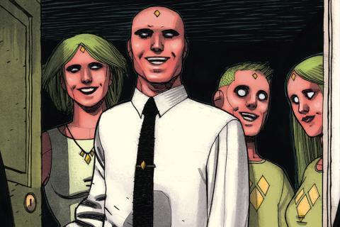 Imagen del cómic La Visión de Tom King