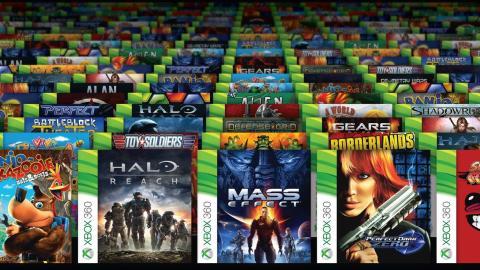 Biblioteca retrocompatibles Xbox