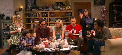 The Big Bang Theory escena final