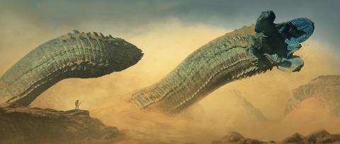 Dune - Gusanos de arena