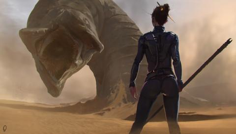 Dune - ilustracion