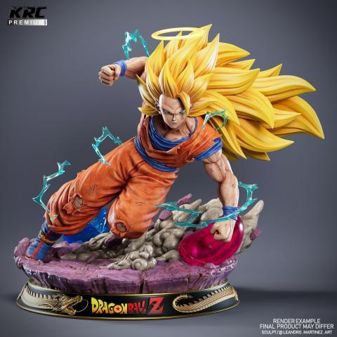 Figura resina Son Goku