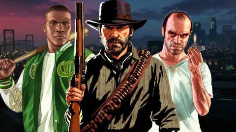 GTA V y Red Dead Redemption 2