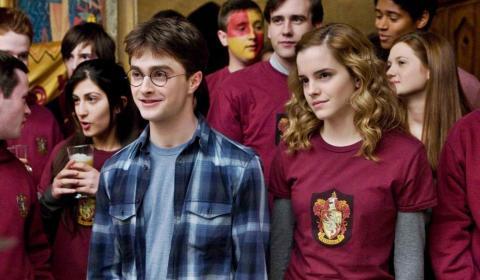 Harry Potter - Harry y Hermione