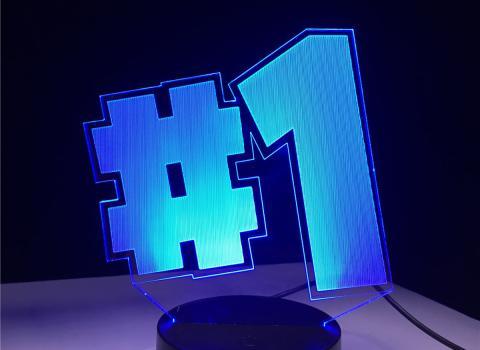 Lámpara Fortnite