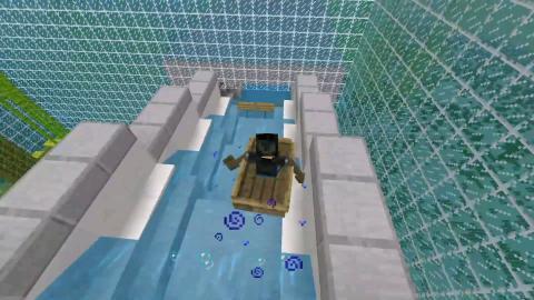 Minecraft Tobogán acuático