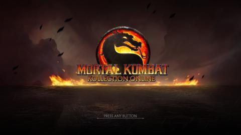 Mortal Kombat Kollection Online listado en una tienda