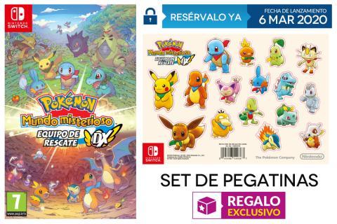 Pokémon Mundo Misterioso Equipo de Rescate DX GAME