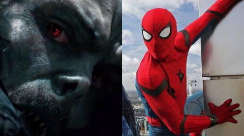 Las referencias a Spider-Man en el tráiler de Morbius, el vampiro viviente